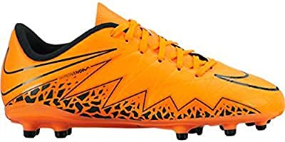 Nike Jr. Hypervenom Phelon II FG Soccer Cleat (Total Orange)