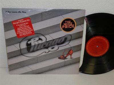 Chicago If You Leave Me Now Lp Columbia Pc 38590 (1983) In Shrink Greatest Hits