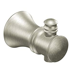 Moen YB9503BN Bamboo Robe Hook, Brushed Nickel