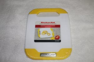 KitchenAid Cutting Board 8 Inch X 10 Inch Yellow