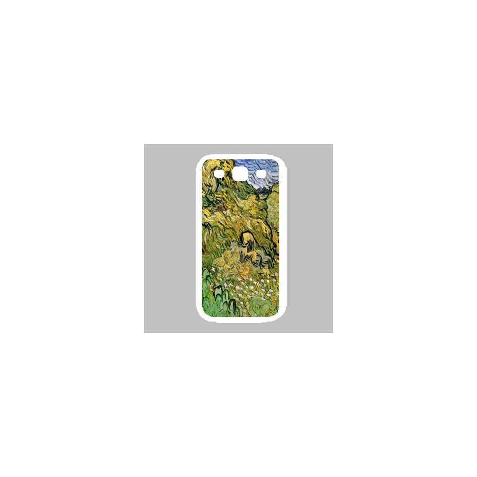 Field With Wheat Stacks By Vincent Van Gogh White Samsung Galaxy S3 Case