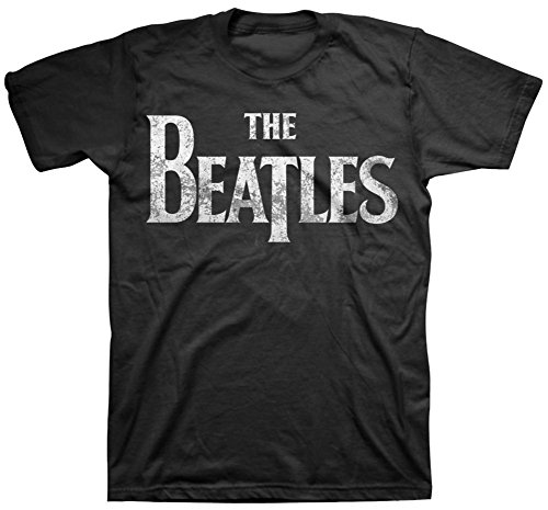 The Beatles - Distressed Logo T-Shirt