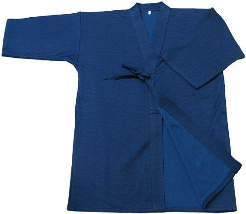 TOZANDO (Higashiyama Temple) Navy Blue Jersey Kendo robe 213-KGJANA2L 2 L No.
