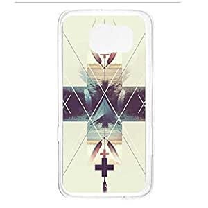 a AND b Designer Printed Mobile Back Cover / Back Case For Samsung Galaxy S6 Edge (SG_S6_3201)