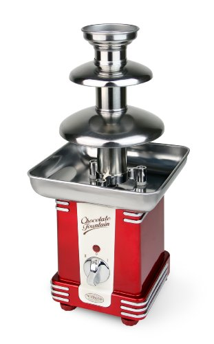 New Nostalgia Electrics RFF500 Retro Series Chocolate Fondue Fountain