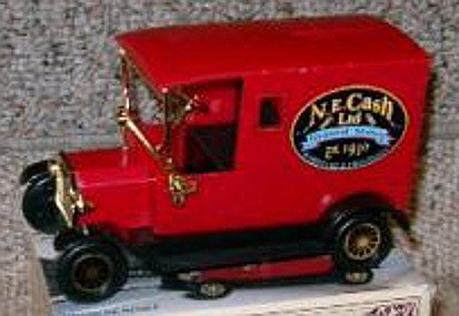 N.E. Cash Ltd. General Stores Delivery Van Coin Bank - 1