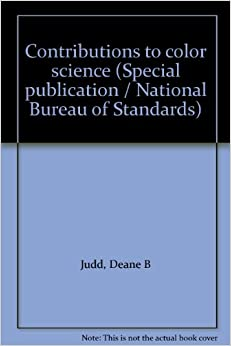 contributions to color science special publication national bureau of standards deane b. Black Bedroom Furniture Sets. Home Design Ideas