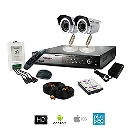 ROBORIX-2B-HD13WK-4-CH-Dvr-,-2(720P)-Bullet-Cameras-(With-500GB-HDD,-Power-Supply,-Cable-&-Accessories)