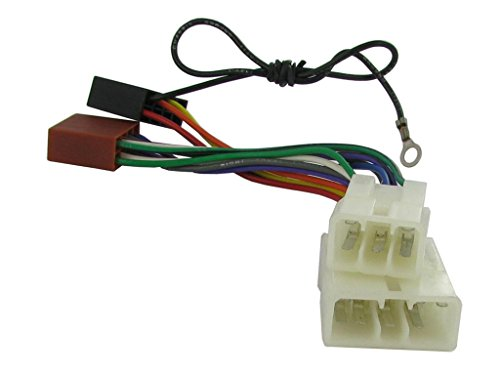 xtremeautor-iso-stereo-wiring-adapter-harness-for-mitsubishi-for-use-with-aftermarket-stereos