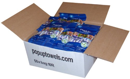 Towelettes Individually Wrapped front-1032899