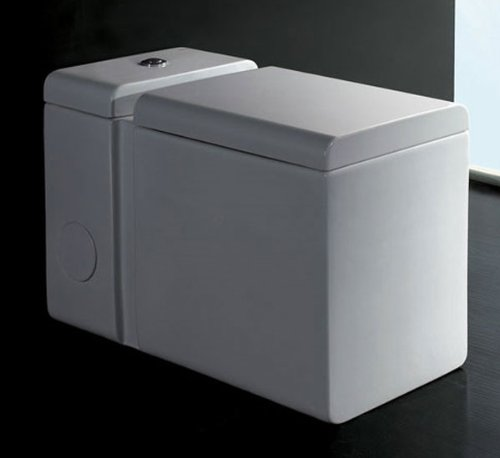 Ariel Zeus AP333 Square One Piece Eco-Friendly Toilet