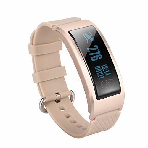 WFB Bluetooth Fitness Tracker Smartwatch For Samsung Android / iphone6s Plus IOS (Gold)