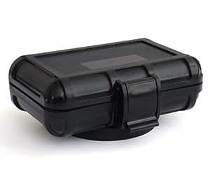 Komplettbox passend zu den GPS Trackern TK102 V3, V6 und TK2000: Wasserdichte Box + Power Magnet + Akku mit 3200mAh - Marke Incutex