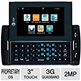 Sharp-FX-STX-2-Unlocked-GSM-Slider-Phone-with-Touchscreen-QWERTY-Keyboard-2MP-Camera-Mobile-TV-Blueooth-and-microSD-Slot---Black