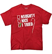 Naughty Humor Christmas Funny Shirts Gift Ideas T-Shirt Tee
