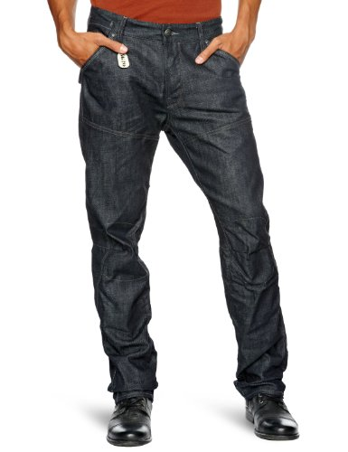 G Star Motor 5620 3D Embro Tapered Men's Jeans 3D Raw W28INxL32IN