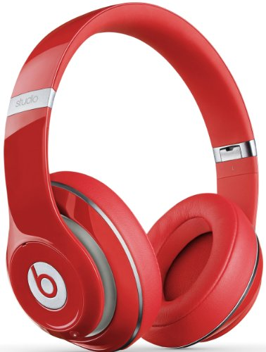 Beats By Dr. Dre Studio Wireless Over-Ear Headphones (Red)