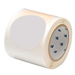 Brady ToughStripe Nonabrasive Dot Shaped Floor Marking Tape, 3.5\