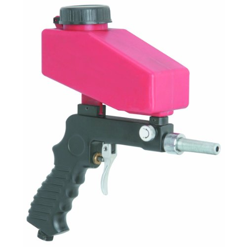 Lowest Prices! Gravity Feed Portable Pneumatic Sand Blaster Gun with Spare Blaster Tip