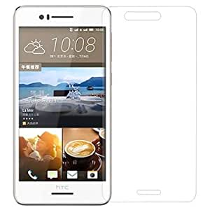 SNOOGG Pack 4 HTC Desire 728 dual simFull Body Tempered Glass Screen Protector [ Full Body Edge to Edge ] [ Anti Scratch ] [ 2.5D Round Edge] [HD View] - White