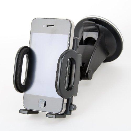 loctek support auto voiture universel ventouse pour fixer mp4 mp3 gps iphone et t l phone. Black Bedroom Furniture Sets. Home Design Ideas