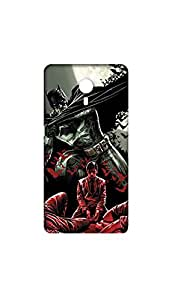Bat Man In Moon Light With A Boy Case For Letv Le1s