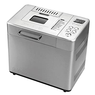 Breadman BK1060S 2-Pound Professional Bread Maker with Collapsible Kneading Paddles and Automatic Fruit and Nut Dispenser by Breadman