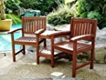 Hardwood 1600mm Companion Seat