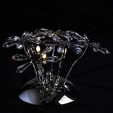 FLORIN - Lampe Murale Cristal - 3 slots à ampoule
