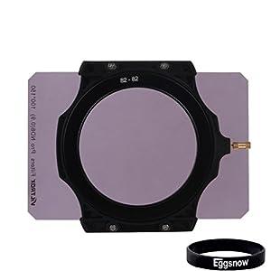 Eggsnow Super Wide Angle 100x150mm Full Frame Square ND 8 Neutral Density 0.12 Fliter + Lens Holder + 4 Step-down Rings 82-67mm,82-72mm,82-77mm,82-82mm