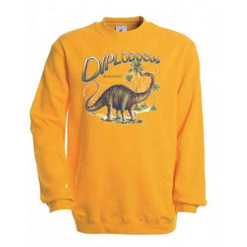 Ethno-Designs-Sweatshirt-Enfants-Diplodocus