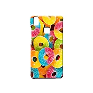 BLUEDIO Designer Printed Back case cover for VIVO V3 - G6961