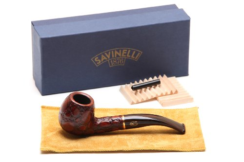 Savinelli Alligator Brown 626 Tobacco Pipe