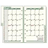 2011年度日付入り リフィル 聖書サイズ 月間-3 リフィール