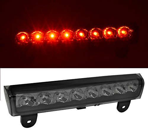 Rxmotor Chevy Suburban Tahoe Yukon XL Denali LED Replacement 3rd Brake Light Tail Cargo Lamp Smoke (2006 Denali Yukon Xl compare prices)