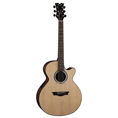 Dean Performer Mini Jumbo Elektro-Akustische Gitarre mit Cutaway und Tuner   Vorverstärker