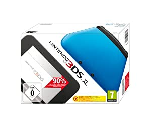 Nintendo 3DS XL - Konsole, blau/schwarz