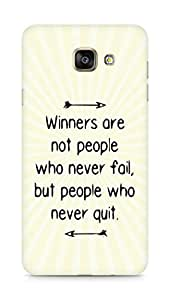 AMEZ but people who never quit Back Cover For Samsung Galaxy A7 (2016 EDITION)