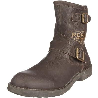 replay s crom brown motorcycle boot gmu02 002