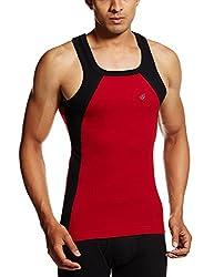 ONN Premium Wear Mens Cotton Vest (BEOS3085_Red_M )