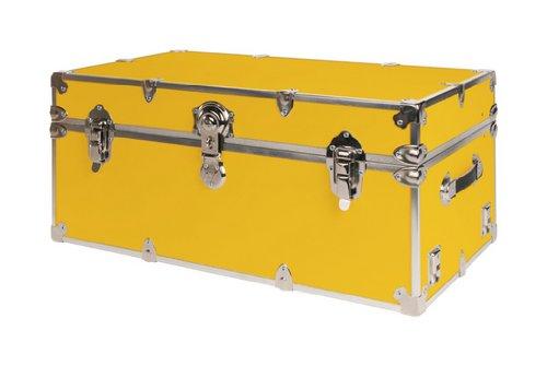 Sale SecureOnCampus College Dorm Trunk / Footlocker Large   Gold