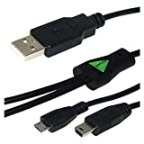 Amzer AMZ22264 USB To Dual Mini USB And Micro USB Y Splitter Charging Handy Cable