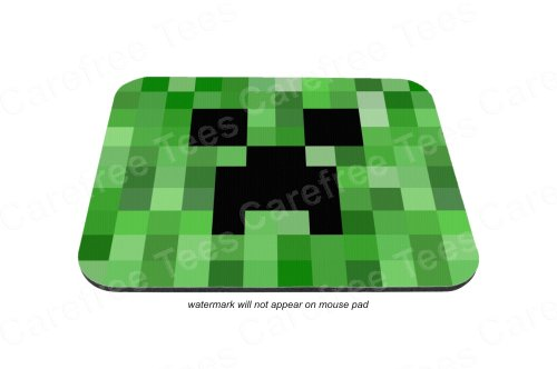 Creeper Face Mouse Pad - Minecraft Inspired