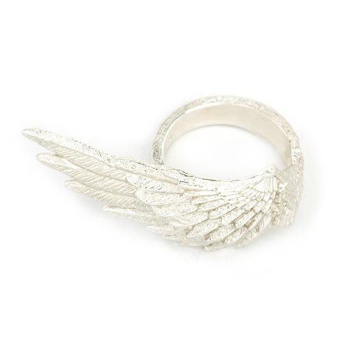 Silversmith 3D Angel Wing (Left) 925 Silver Ring