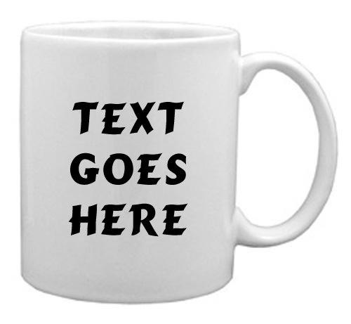 Personalised Mug - Custom Mug