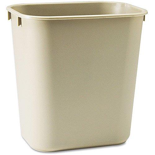 iliving-commercial-fiberglass-fire-resistant-trash-can-28-quart-or-7-gal-rectangular-beige