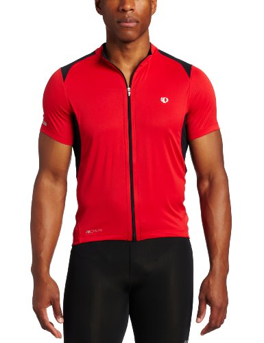 Pearl Izumi Men's Elite Pursuit Jersey,True Red/Black,Large