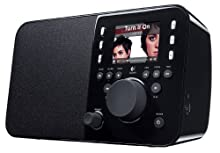 Logitech Squeezebox Radio Music Player with Color Screen Black