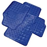 4 Piece Heavy Duty Blue Checker Mat Set Ford Probe