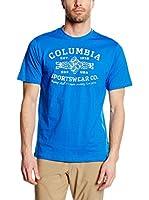 Columbia Camiseta Manga Corta Rough N' Rocky (Cobalto)